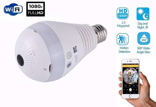Light Bulb Wireless IP Camera Smart Home CCTV Spy Bulb