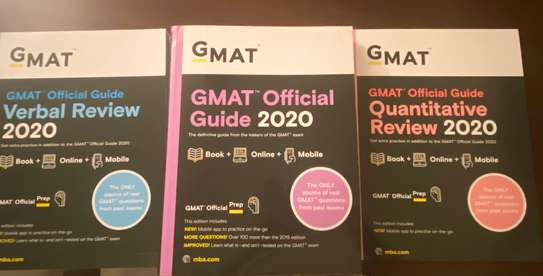 GMAT Official Guide 2020 Bundle: 3 Books