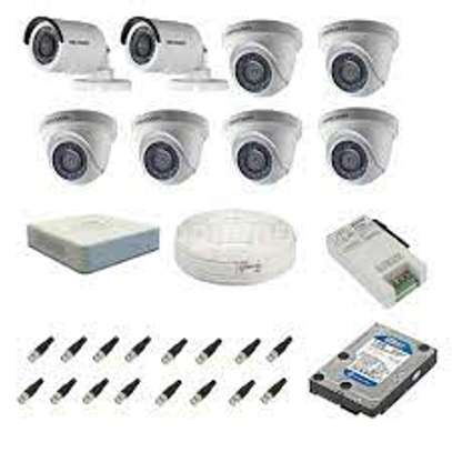 8 HD CCTV Camera Package (with Night Vision + 1TB Storage + 200m Cable) image 2