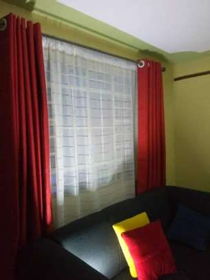Curtains and Matching sheers image 8