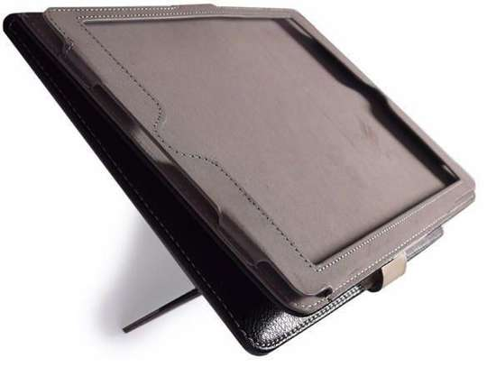 Samsung Logo Leather Book Cover Case With In-Pouch For Samsung Tab A 9.7 image 2