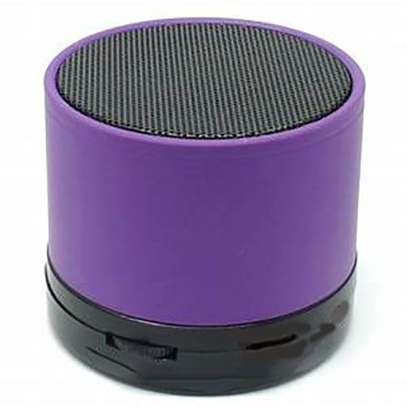 Mini Bluetooth Wireless Stereo Speakers FM, Memory Card, Bluetooth, USB - Purple.