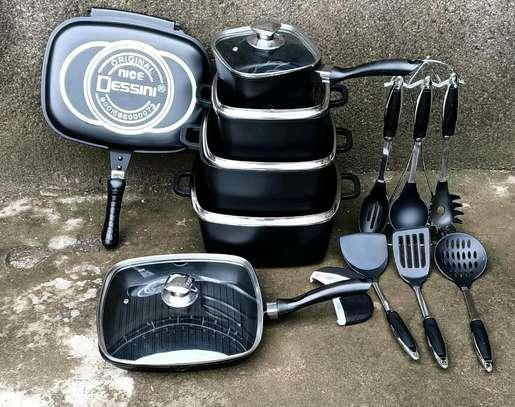 21 pieces Dessini cookware set                                 21pc dessini set image 1