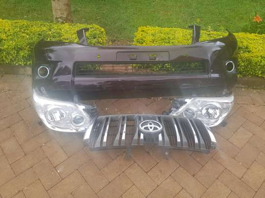 Toyota Prado Headlights,Grille and Bumber