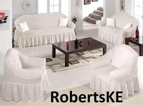 white sofa cover image 1