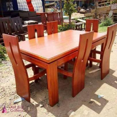 6 Seater Classic Dinning Set image 1