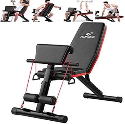 Adjustable Home use gym bench image 1