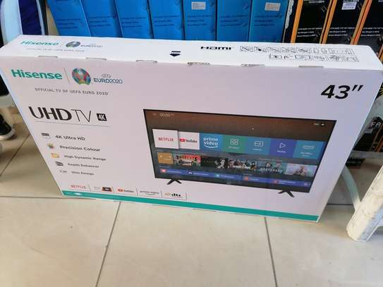 Brand new 43 inch hisense smart uhd 4k led TV