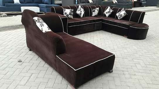 L shape back permanent and sofabed
