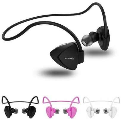 Awei A840BL Wireless Sport Bluetooth 4.0 Sweatproof Earphones With Mic image 8