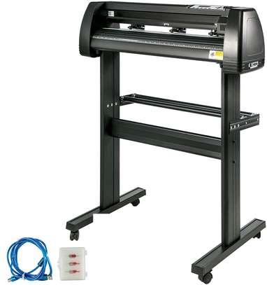 "vinyl cutter with maximum paper feed of 870mm(34.3""), maximum cutting image 2"