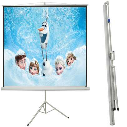 TRIPOD PROJECTION SCREENS FOR HIRE.
