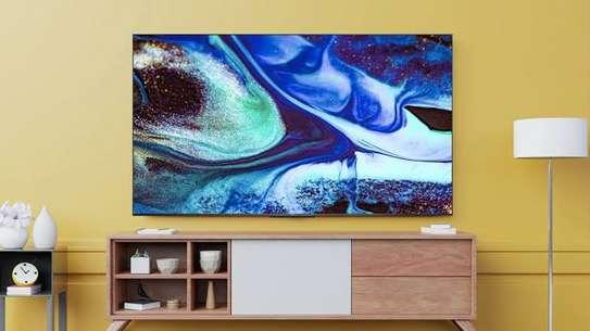 Syinix 55 inches Frameless Android UHD-4K Smart Digital TVs image 1