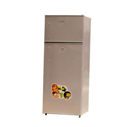 ICECOOL 250 LITRES DOUBLE DOOR DIRECT COOL REFRIGERATOR -BCD250 image 1