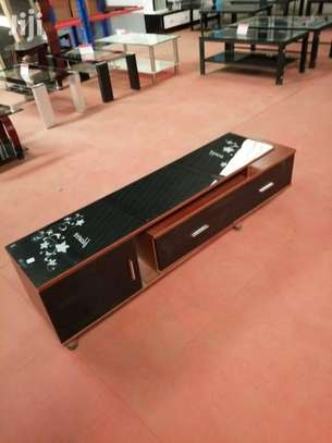TV Stand With Adjustable Length image 1