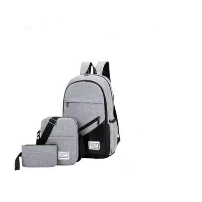 3-in-1 laptop backpack bag image 1