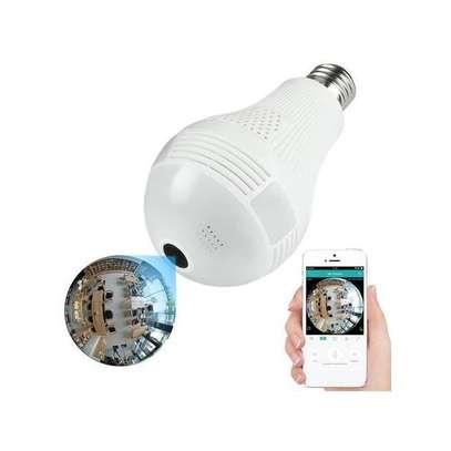 Panorama New 2.0MP 1080P Wireless Panoramic IP VR Camera Bulb Light Wifi FishEye Surveillance 360 degree CCTV Home Security ip camera image 2