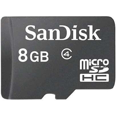Sandisk 8GB Micro SD - Black image 2