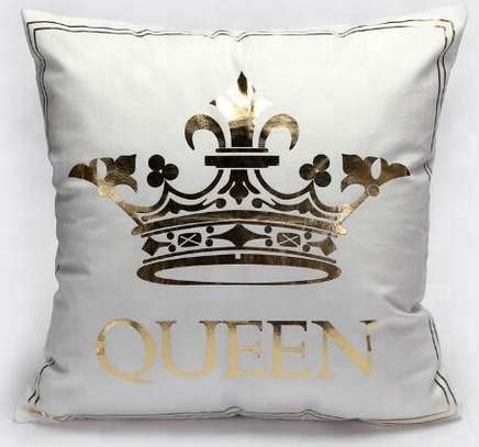 Gold Pillow Covers image 1