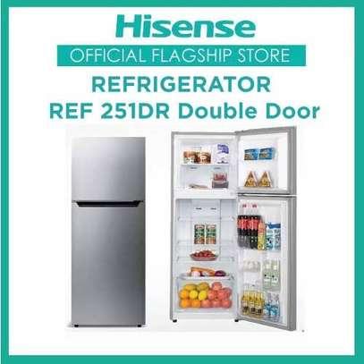 Hisense REF251DR Double Door Refrigerator-new sealed image 1