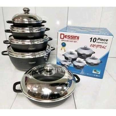 10 pcs Dessini Non Stick Cooking Pots