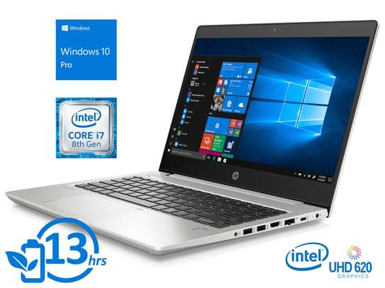 HP ELITEBOOK 430 G6 - 8TH GEN - INTEL CORE i5 - 16GB RAM - 1TB HDD- TOUCHSCREEN - BACKLITE KEYBOARD image 1