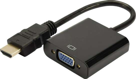 DVI to VGA Display Adapter M/F image 1