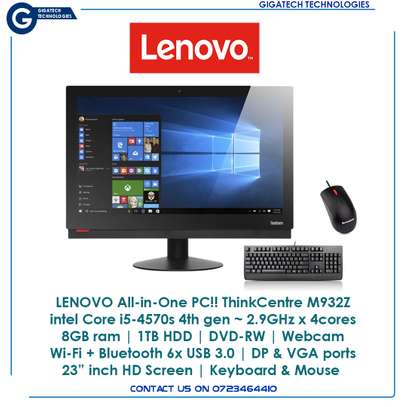 LENOVO All in One Desktop PC.