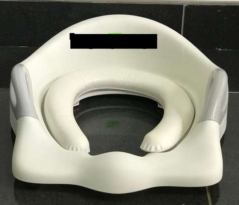 Children Potty Training Seat With Soft Cushion and Handles