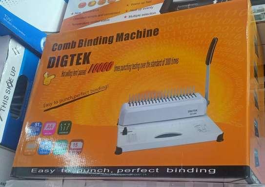 Comb Binding Machine image 1