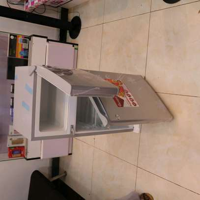 90 LITRES DOUBLE DOOR DIRECT COOL FRIDGE, SILVER- RF/222 image 4