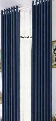 Blue colorful Curtains image 1
