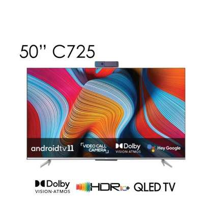 TCL QLED 4K 50 inch C725 Android 11 TV-NEW image 1