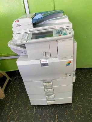 Cheapest ricoh aficio mpc2050 colored photocopier image 1
