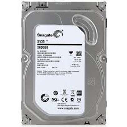 SEAGATE 2TB DESKTOP HARD DDRIVE image 1