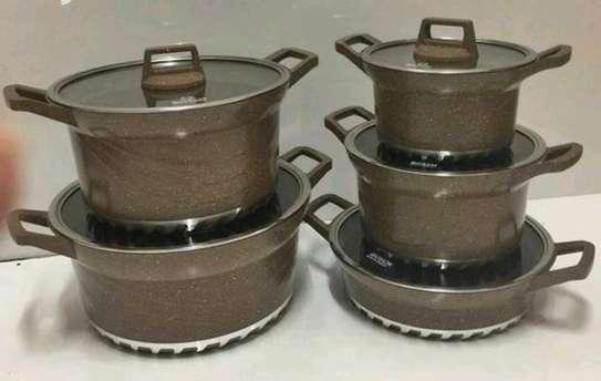 Bosch Cookware Set....10 pieces image 2