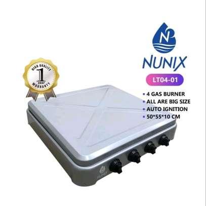NUNIX 4 GAS BURNER  TABLE TOP COOKER image 3