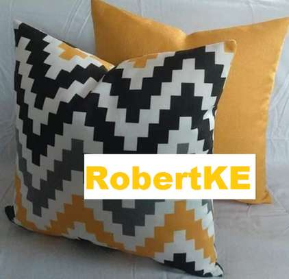 patterned throw pillows image 1