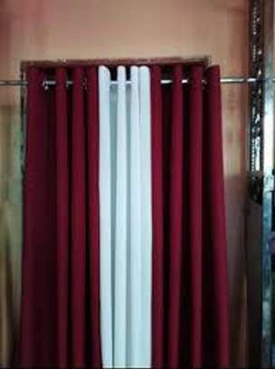 Maroon Blackout Curtain image 1