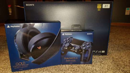 Playstation 4 Pro 2TB With 10 Free Games And 2 Free Controllers image 1