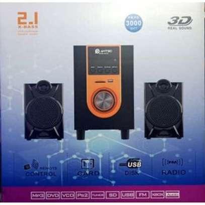 Amtec X-BassSubwooferSystem,BLUETOOTH,FM,USB,SD,3000W image 1