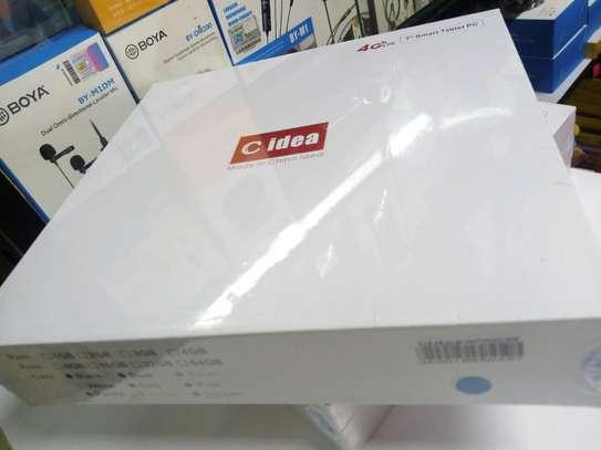 C Idea Tab CM 488 2GB+16GB, 4G LTE, 7 Inch, Dual SIM , Black image 1