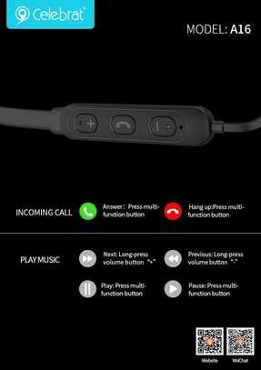 Celebrat 16 High Sound Quality Wireless Earphones image 4