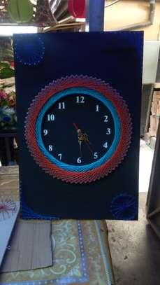 String Art wall clocks on offer!! image 3