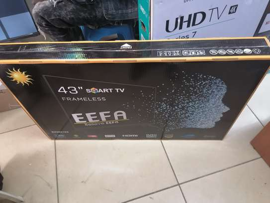 43 Inch eefa smart android frameless TV image 1