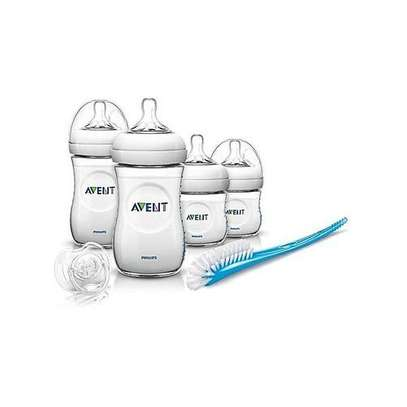 Philips Avent Natural Newborn Starter Set - Clear