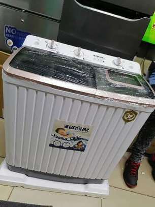 11kg semi automatic washing machine top load image 2