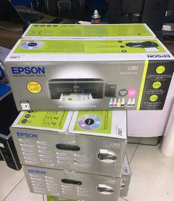 Epson l382 photocopier machine image 1