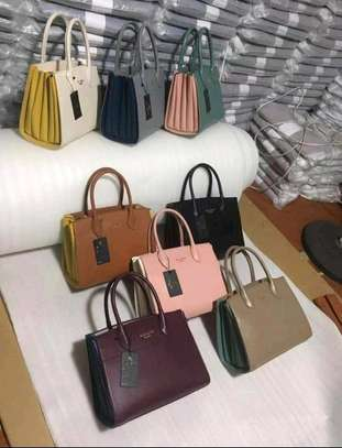 Malinda Paris genuine leather handbag set, image 1