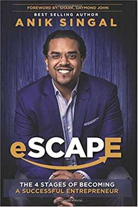 SCAPE: The 4 Stages of Becoming A Successful Entrepreneur Paperback – August 17, 2018 by Anik Singal  (Author), Daymond John (Foreword) image 1